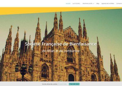 Société française de bienfaisance de Milan et Lombardie